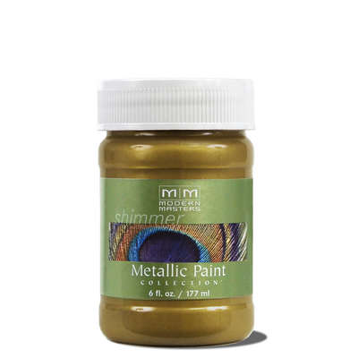 Metallic Paint - Green Gold 6oz picture