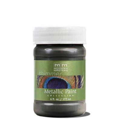 Metallic Paint - Steel Gray 6oz picture