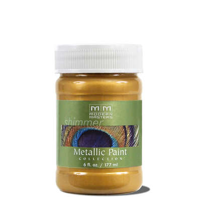 Metallic Paint - Iridescent Gold 6oz picture