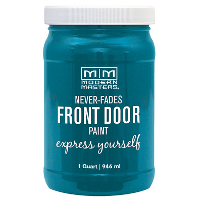 Front Door Paint Satin - Tranquil 32oz picture
