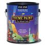 Theme Paint Pre Mixed Scenic Artist Palette - Carbon Black - Gallon