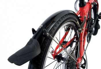 SKS Mini 20 Mudguards, Dahon Special Edition, Black picture
