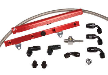 99-04 GM LS1 Corvette Fuel Rail System picture