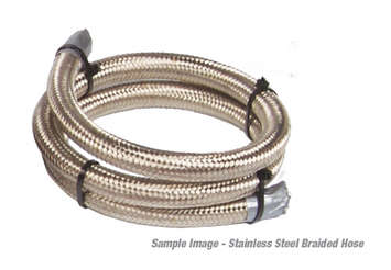 12' AN-08 Stainless Steel Braided Line picture