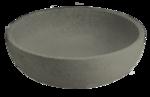 """30"""" Diameter Weathered Greystone Lotus Bowl Fountain (LBF31)"""