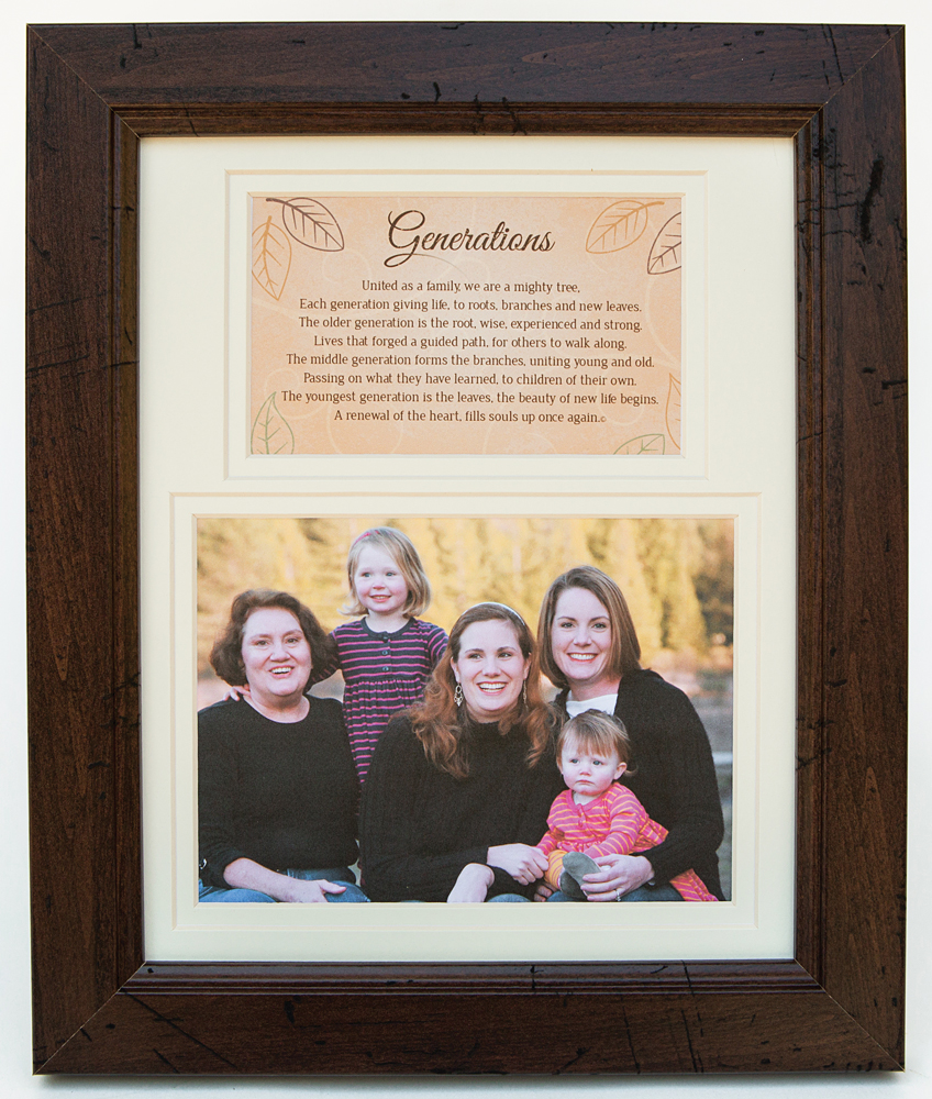 Generations Family Picture Frame picture