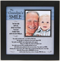 My Grandpa's Smile 8x8 Frame