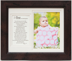 First Granddaughter 8x10 Frame