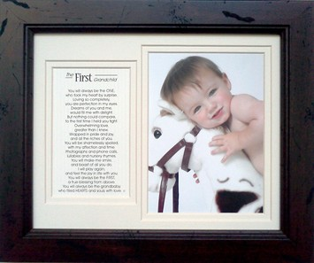 First Grandchild Frame picture