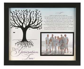 The Generations Tree 11x14 Frame picture