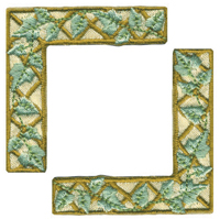 Taupe Trellis - Heritage Page Corners (6 packs included) picture