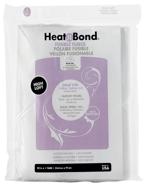 HeatnBond Fleece Fusible High Loft (White 22 in. x 1 Yard pack) picture