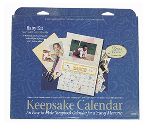 Keepsake Calender Kit (3 kits included) - Baby Theme picture