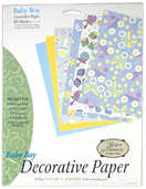 Baby Boy Decorative Paper Pack (6 packs included)