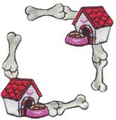 Dog House & Dog Bone  (6 packs included)