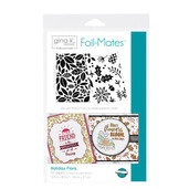 Gina K. Designs Foil-Mates™ Backgrounds • Holiday Flora
