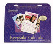 Keepsake Calender Kit (3 kits included)  - Celebration Theme