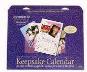 Keepsake Calender Kit (3 kits included)  - Celebration Theme