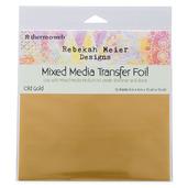 "Rebekah Meier Designs Transfer Foil 6"" x 6"" (12 sheets per pack) • Old Gold (Satin)"