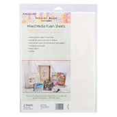 "Rebekah Meier Designs Mixed Media Foam Sheets 9"" x 12"" (2 sheets per pack)"