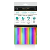 Deco Foil™ Transfer Sheets Value Pack • Rainbow