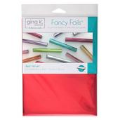 """Gina K. Designs Fancy Foils™ 6"""" x 8"""" • Red Velvet"""