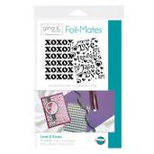 Gina K. Designs Foil-Mates™ Backgrounds • Love & Kisses