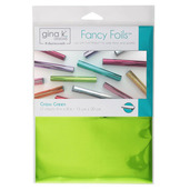 "Gina K. Designs Fancy Foils™ 6"" x 8"" • Grass Green"