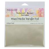 """Rebekah Meier Designs Transfer Foil 6"""" x 6"""" (12 sheets per pack) • Antique Pearl (Satin)"""