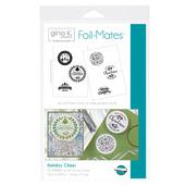 Gina K. Designs Foil-Mates™ Sentiments • Holiday Cheer