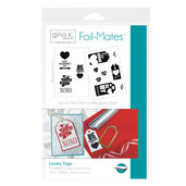 Gina K. Designs Foil-Mates™ Tags • Lovely Tags