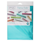 "Gina K. Designs Fancy Foils™ 6"" x 8"" • Turquoise Sea"