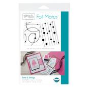Gina K. Designs Foil-Mates™ Backgrounds • Dots & Strings