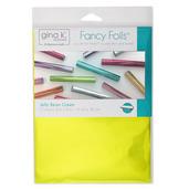 "Gina K. Designs Fancy Foils™ 6"" x 8"" • Jelly Bean Green"