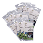 Black & White Photo Corners (12 packs of 104 included)