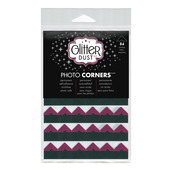 Glitter Dust Photo Corners • Pink