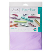 "Gina K. Designs Fancy Foils™ 6"" x 8"" • Wild Lilac"