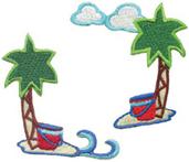 Island Getaway - Corner Trim  (6 packs included)