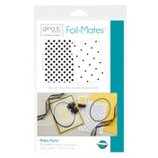 Gina K. Designs Foil-Mates™ Backgrounds • Polka Party