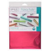 "Gina K. Designs Fancy Foils™ 6"" x 8"" • Passionate Pink"