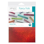 "Gina K. Designs Fancy Foils™ 6"" x 8"" • Radiant Red"
