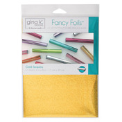 """Gina K. Designs Fancy Foils™ 6"""" x 8"""" • Gold Sequins"""