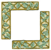 Taupe Trellis - Heritage Page Corners (6 packs included)