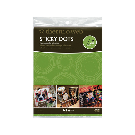 Sticky Dots Adhesive </br>Small Sheets picture