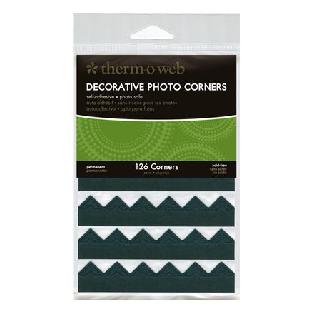 Decorative Photo Corners • Black picture