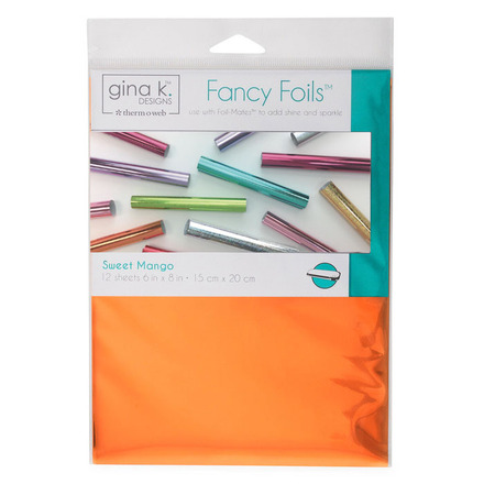 "Gina K. Designs Fancy Foils™ 6"" x 8"" • Sweet Mango picture"