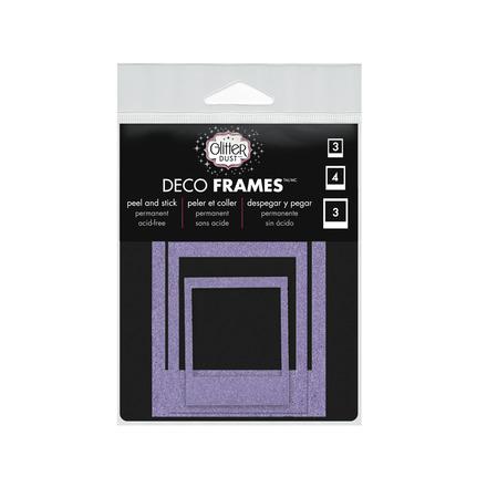 Glitter Dust™ Polaroid Frame Assortment-Purple picture