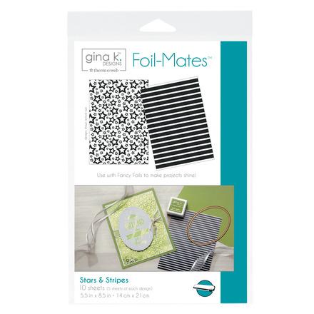 Gina K. Designs Foil-Mates™ Backgrounds • Stars & Stripes picture