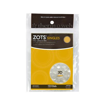 Zots™ Singles • 3-D picture
