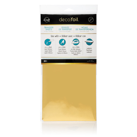 Deco Foil™ Transfer Sheets Value Pack • Gold picture